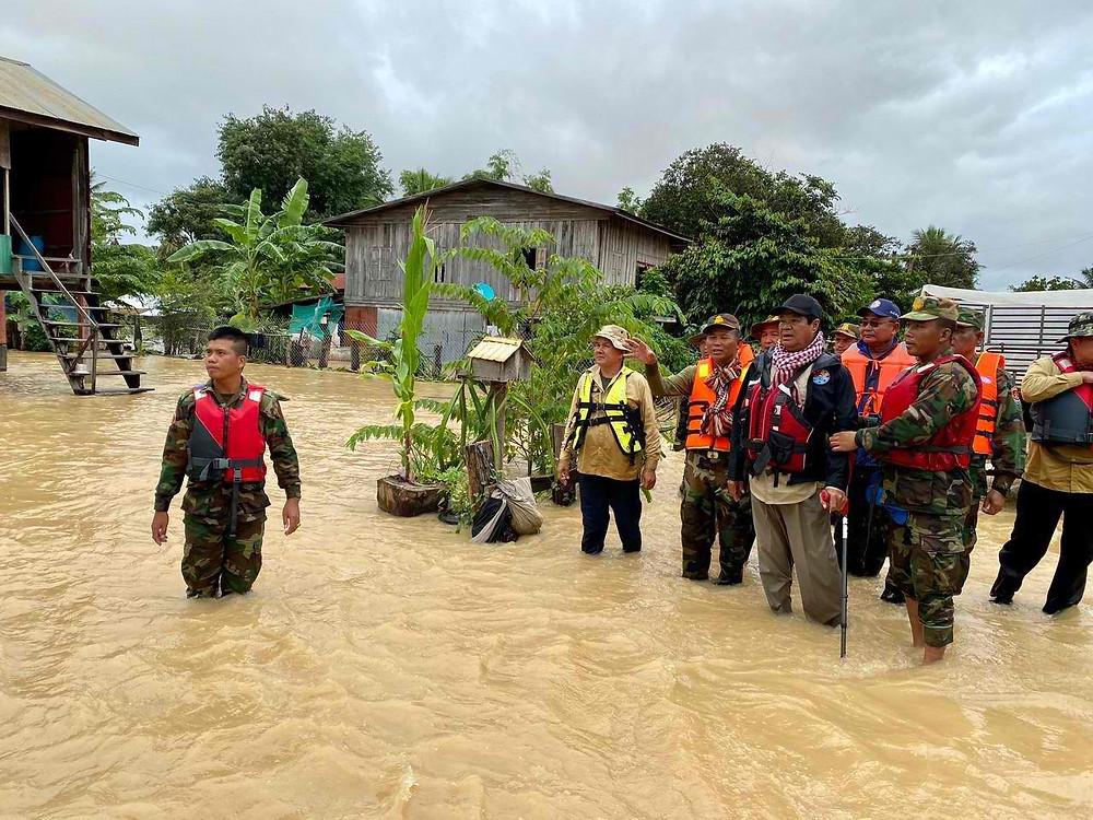 Le Comité national de gestion des catastrophes et ses équipes
