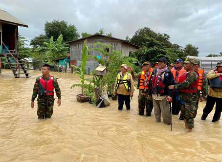 Cambodge & Inondations : Le bilan des victimes passe à 40