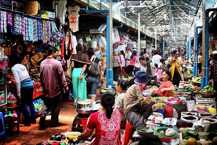 marché de Boeung Keng Kang