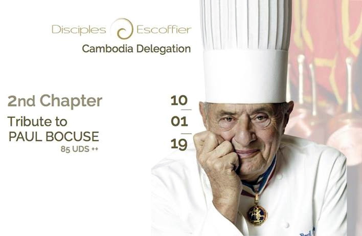 Gastronomie : Célébration du second chapitre de la délégation des Disciples d'Escoffier