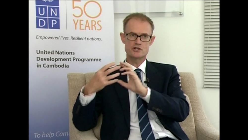 Nick Beresford est le directeur national du Programme des Nations Unies pour le Développement au Cambodge