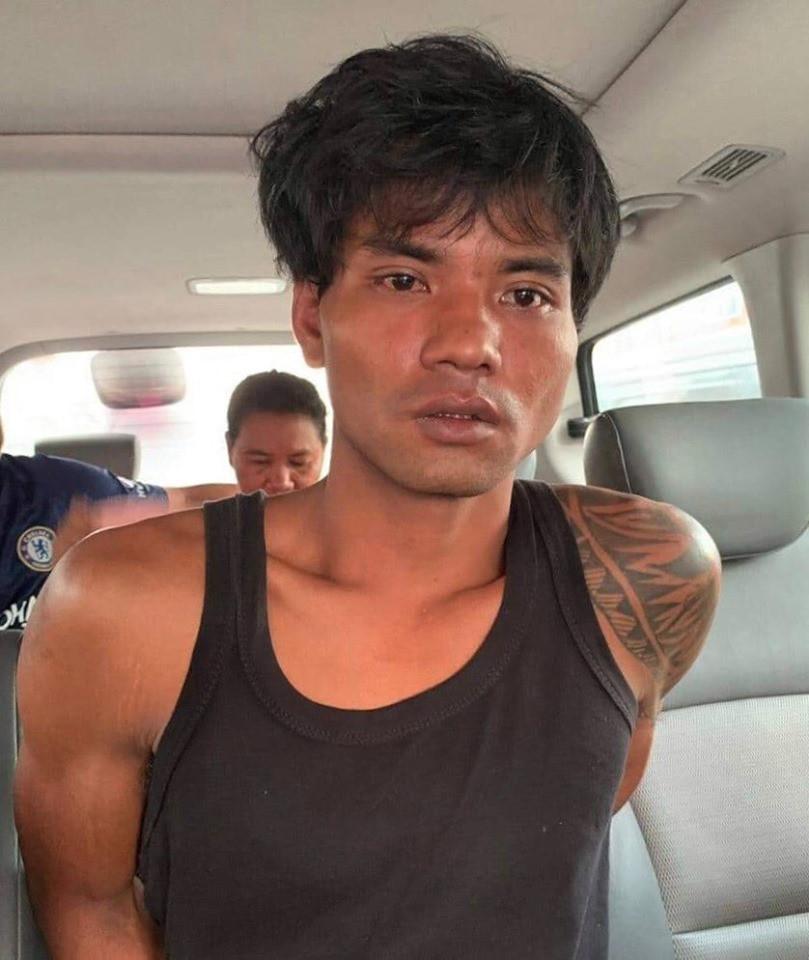 Mang Vichet, soupçonné d'avoir violé et tué brutalement deux enfants à Preah Sihanouk
