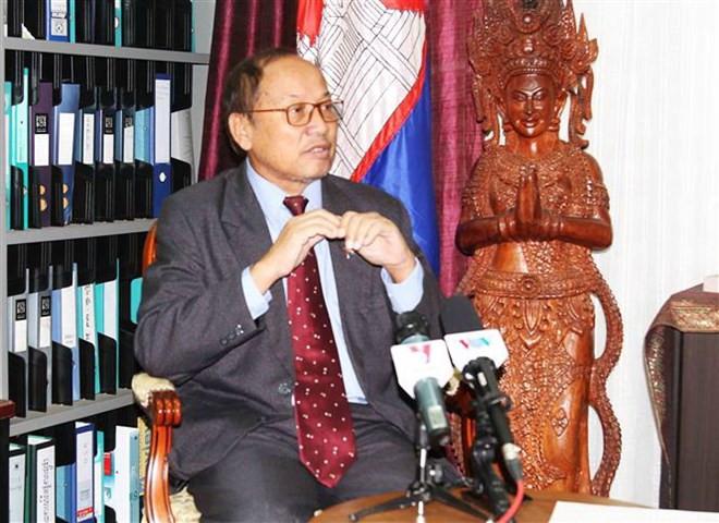 Phay Siphan, porte-parole du gouvernement royal