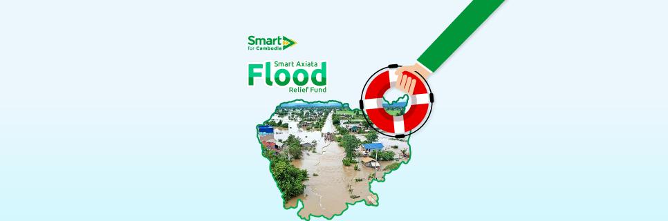 Smart Axiata propose d'aider les victimes des inondations