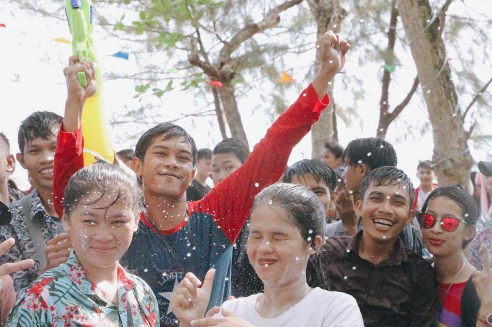 Le Sankranta de la mer dans la province de Preah Sihanouk. Photo - Service provincial de l'Information
