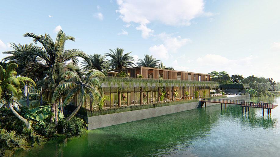 Amber Kampot : Premier complexe hôtelier de luxe à Kampot en 2020