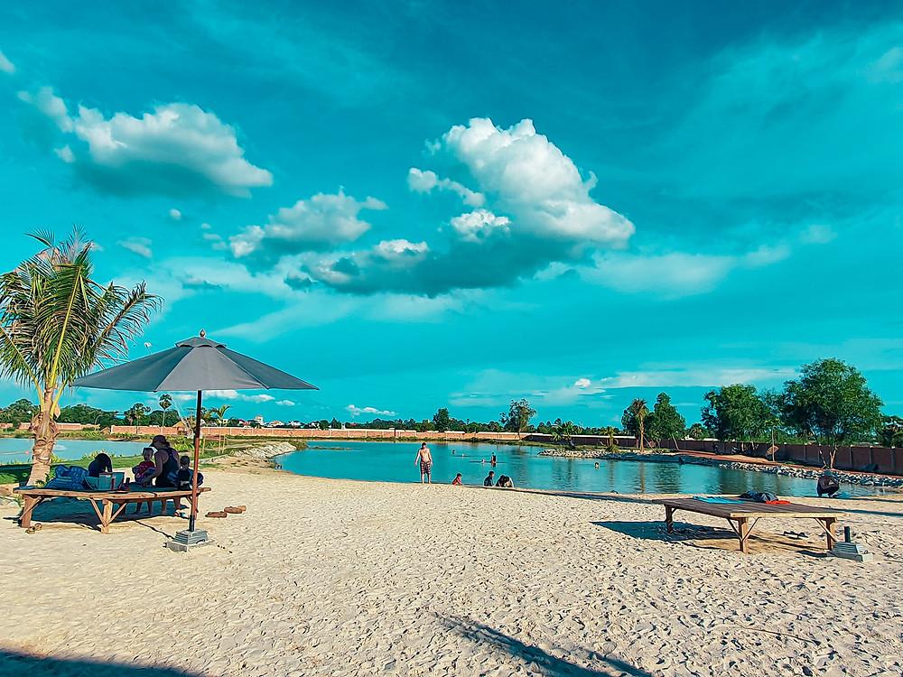 Le Wake park de Siem Reap
