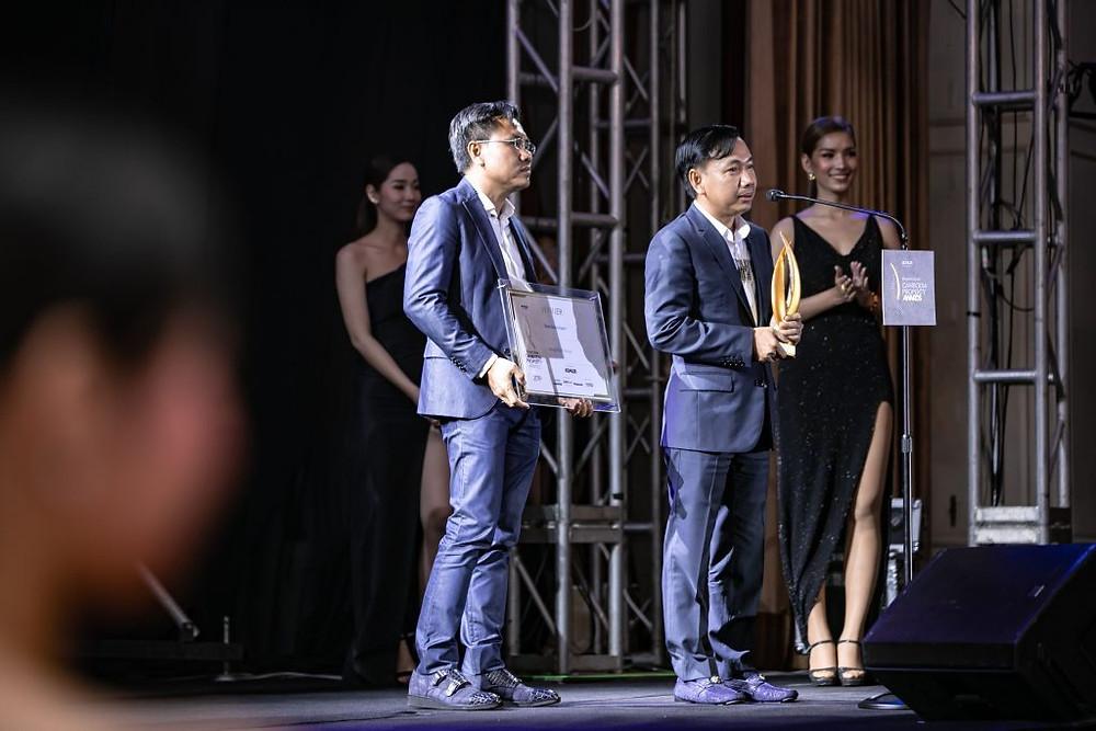 Le groupe Peng Huoth a, une nouvelle fois, reçu la plus haute distinction pour le titre de meilleur développeur