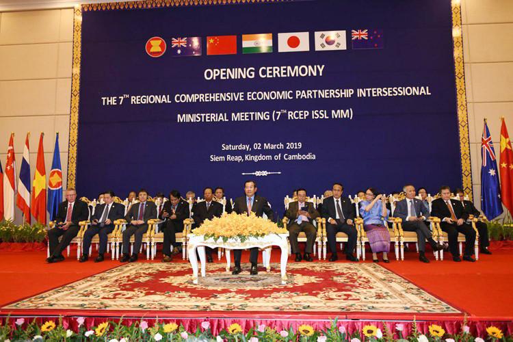 Siem Reap : Négociations sur le partenariat économique régional