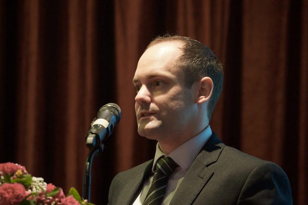 James Hodges, associé et Directeur de CBRE Cambodge