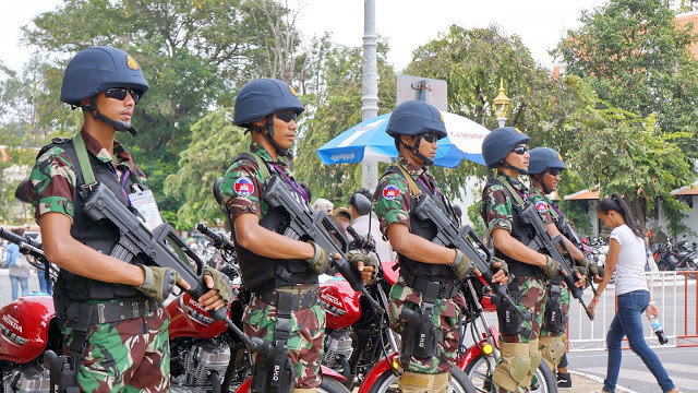 85 000 hommes déployés pour la sécurité du scrutin