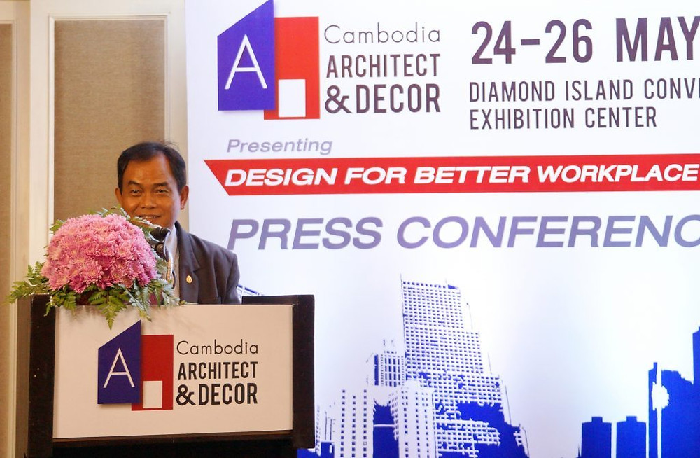 Son Excellence Phuong Sophean, Secretaire d'état au Ministère des terres, de l'aménagement urbain et de la construction