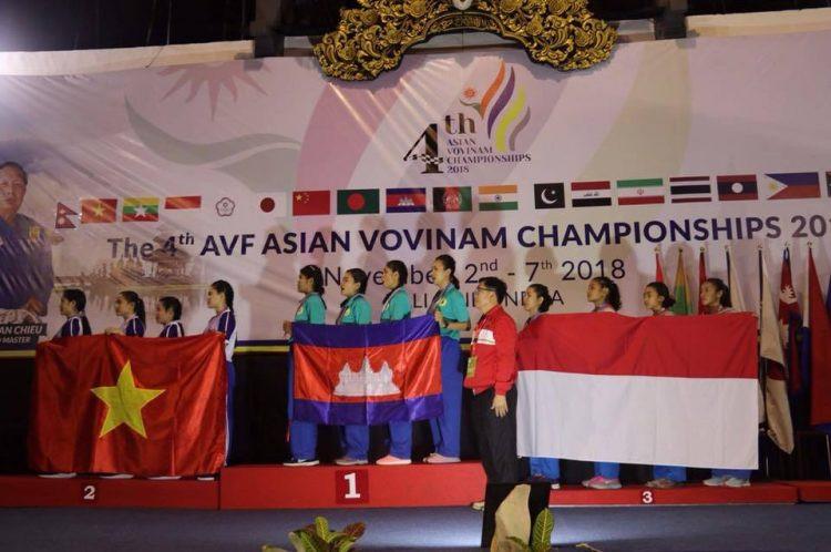 Le Cambodge remporte 11 médailles d'or aux championnats asiatiques