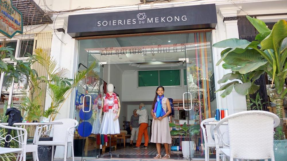 Boutique Soieries du Mékomg à Siem Reap