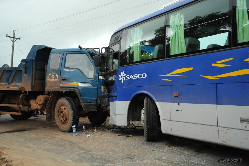 Accident de la circulation. Photographie Alex Drainville (cc)