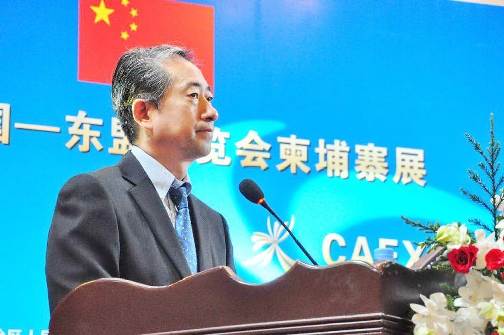 Xiong Bo, ambassadeur de la République populaire de Chine au Cambodge