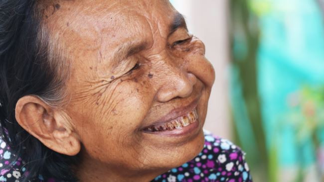 Im Chaem, cadre zélé de Pol Pot, convertie au christianisme, et toujours sans remords...
