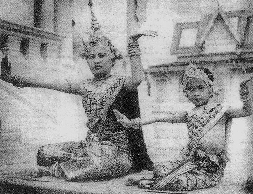 S.A.R la Princesse Buppha Devi à l'âge de 5 ans