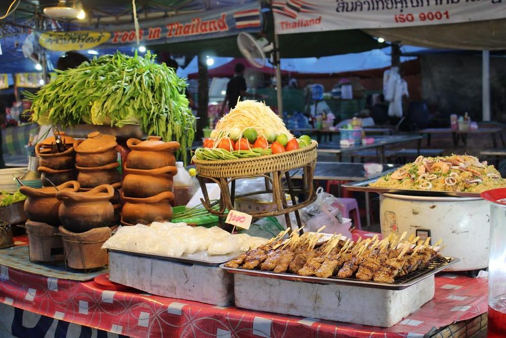 A l'image des precedents festivals, la cuisine khmère était omniprésente parmi les stands