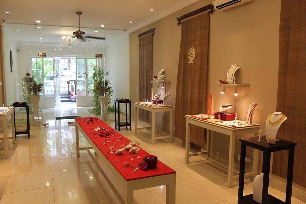 Le showroom de Chamazo