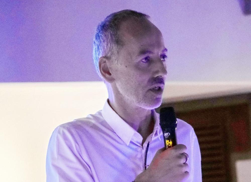 Pierre-André Romano, président d'Artisans d'Angkor et de la section locale de la CCIFC