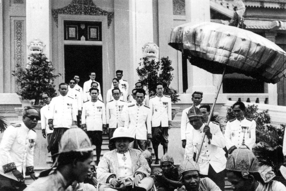 1947, le roi au Festival de l'eau