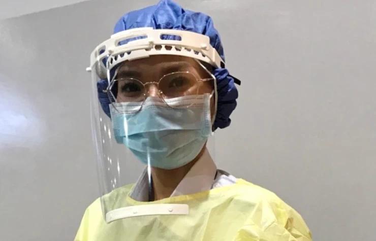 Chanty, infirmière cambodgienne en première ligne contre le Covid