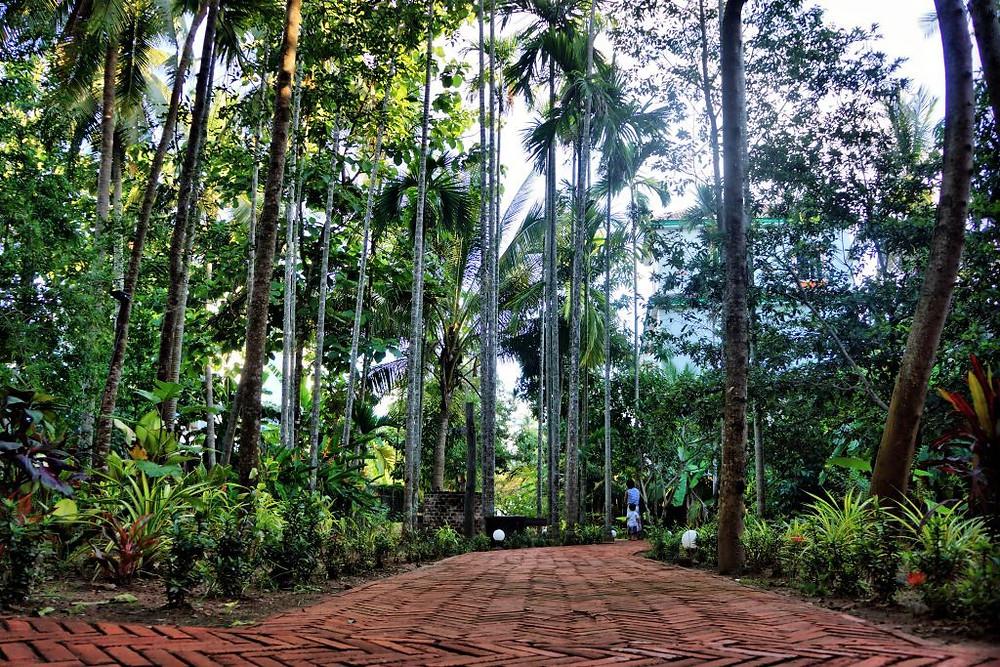 Le parc du Relais de Chhlong