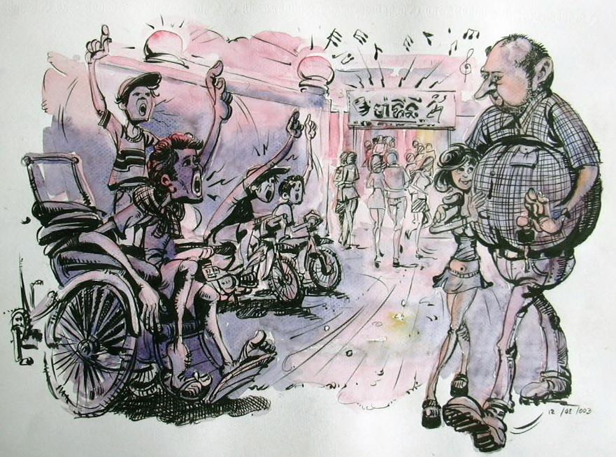 Mes chers parents, un étranger au Cambodge, c'est Alice au pays des merveilles