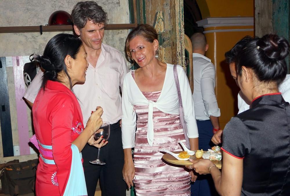 Ils étaient plus d'une centaine vendredi dernier à s'être rendus dans les locaux de la Chines House pour une soirée réseautage organisée par Eurocham,