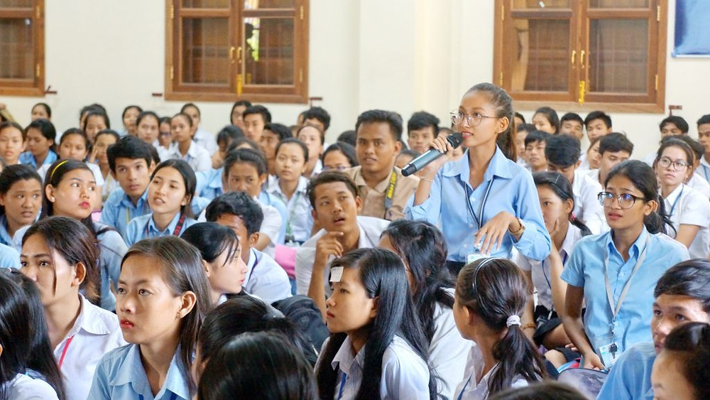 Echanges avec les étudiants de PSE