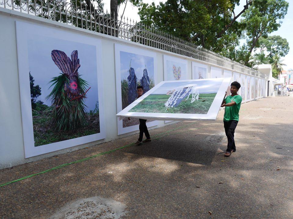 Institut Francais du Cambodge shared a post. 9 hrs ·  Le Jour J pour Photo Phnom Penh se rapproche à grand pas, et les différentes expositions sont en cours d'installation tout autour de Phnom Penh