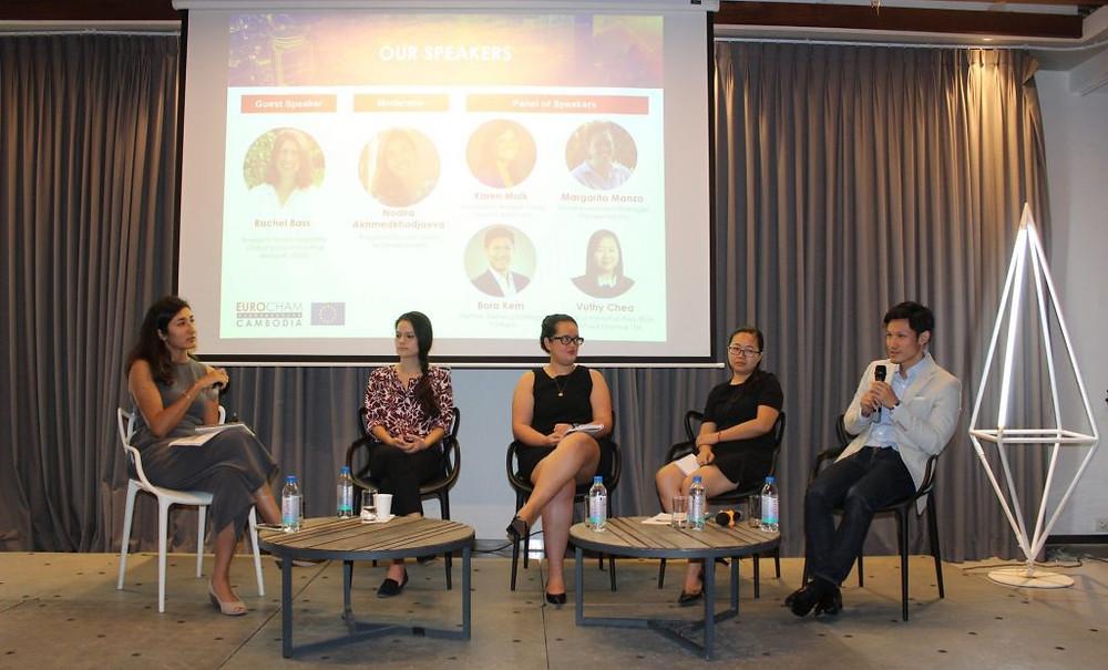 Eurocham - Conférence : L'Impact Investing, le meilleur des deux mondes ? Photographie Eurocham