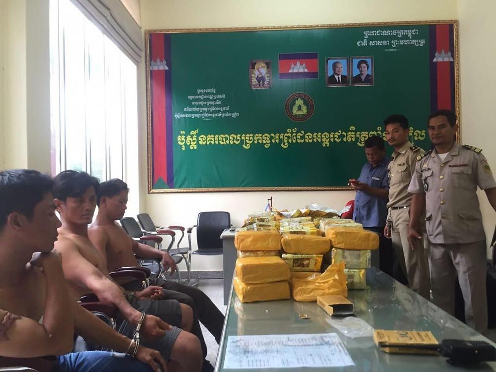 Saisie record de méthamphétamine venue du Laos