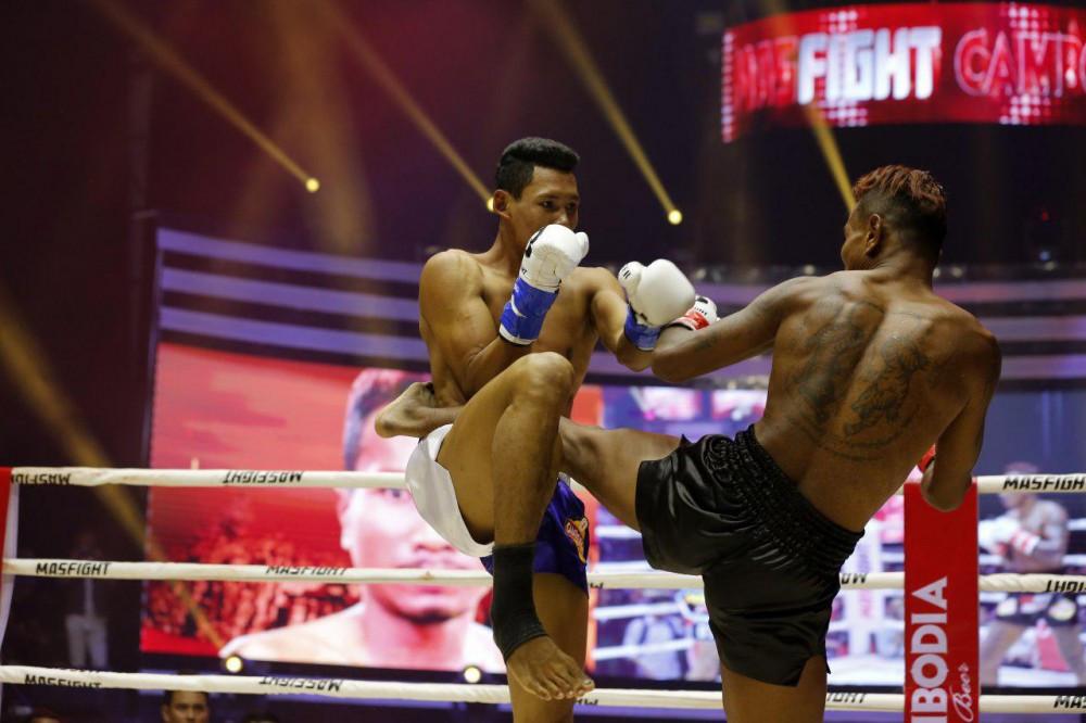 premier tournoi Mas Fight Cambodia