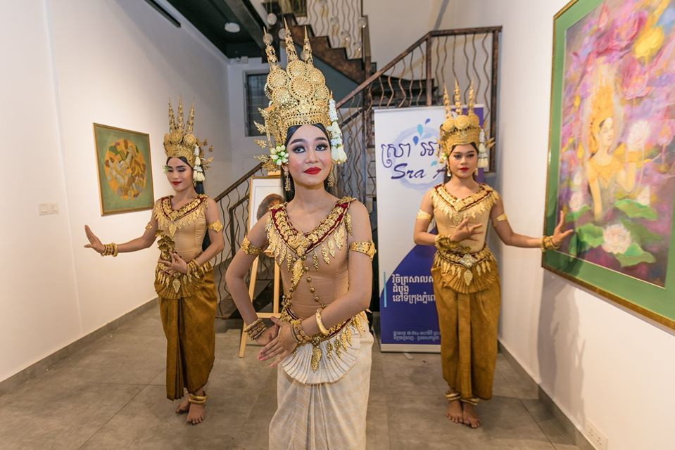 Hommage à la Princesse Norodom Buppha Devi