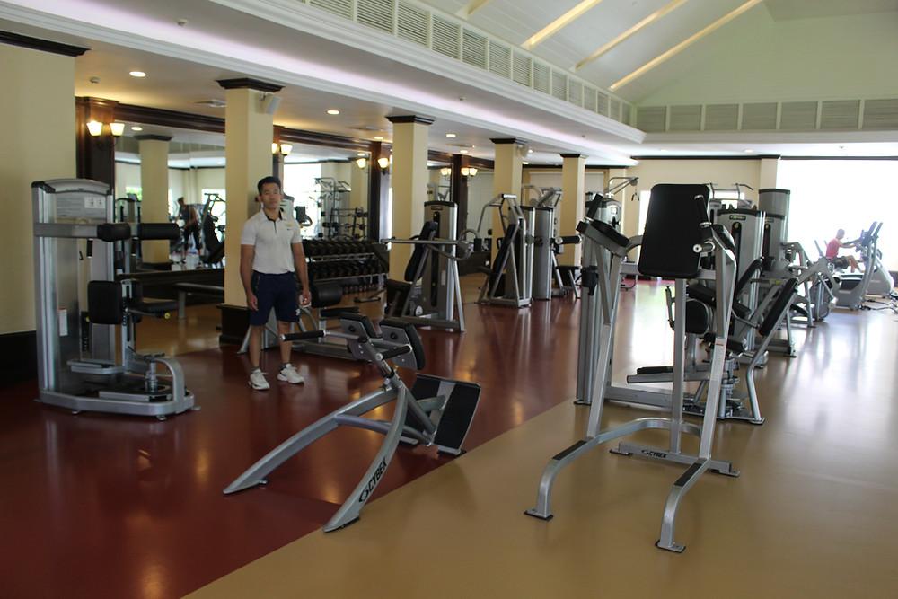Nouvelles machines pour la salle de gym