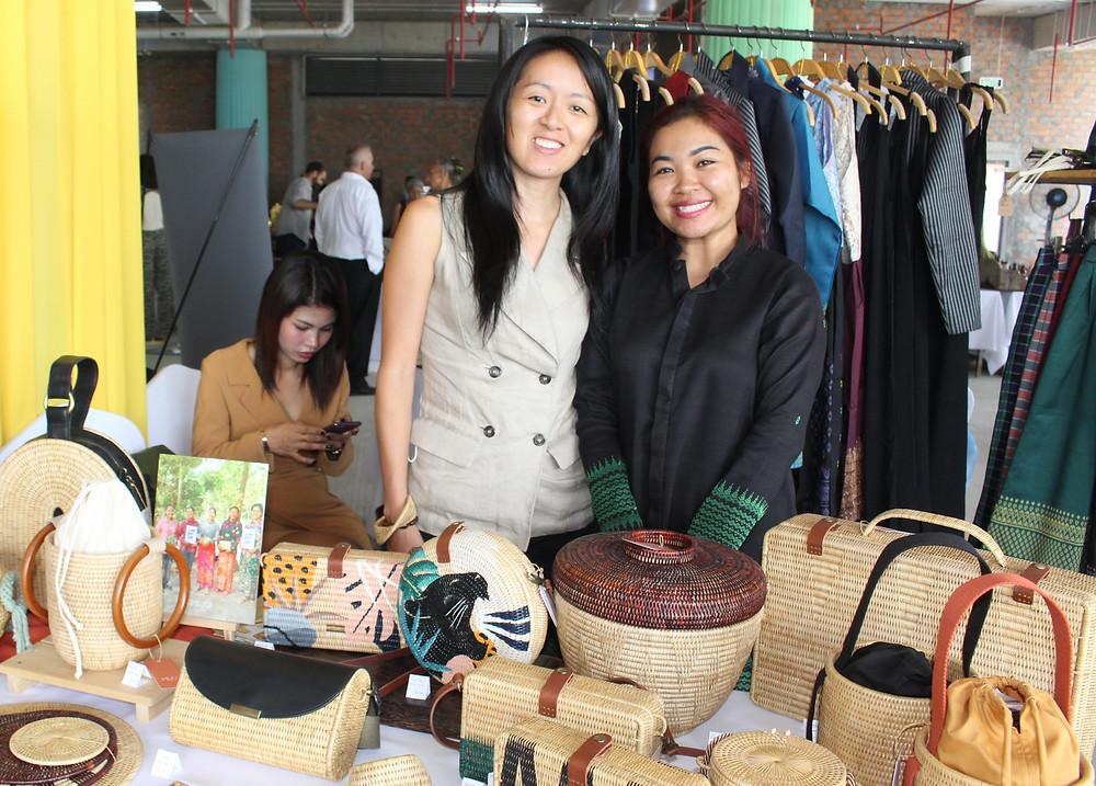 lors du « Made in Siem Reap Fair »