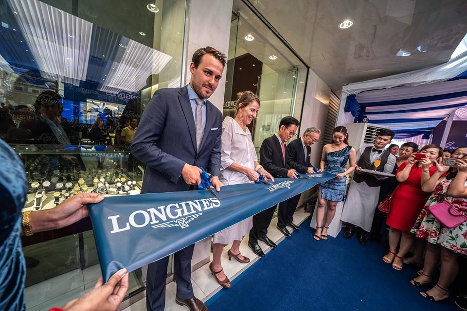 lancement officiel de Longines Boutique Cambodia