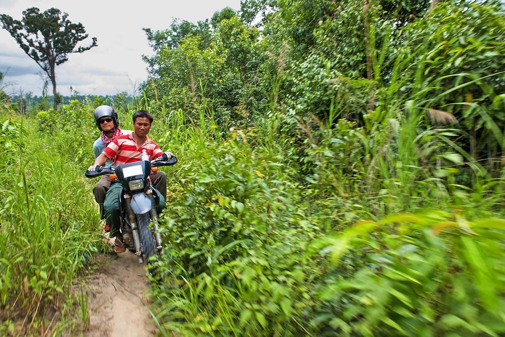 Le Cambodge est un terrain de jeu immense