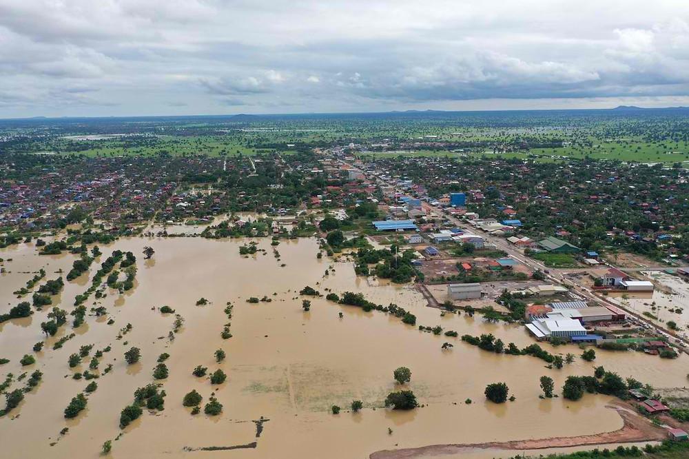 La province sous les eaux