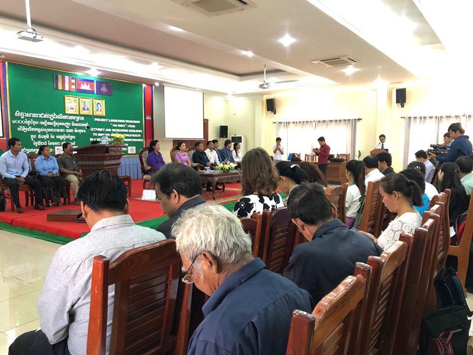 Le programme ''1,000 Days Nutrition'' démarre à Stung Treng