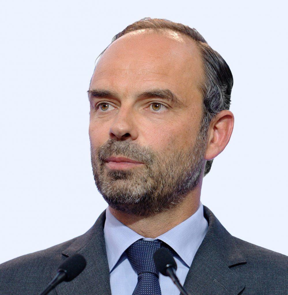 Edouard Philippe, Premier ministre de France