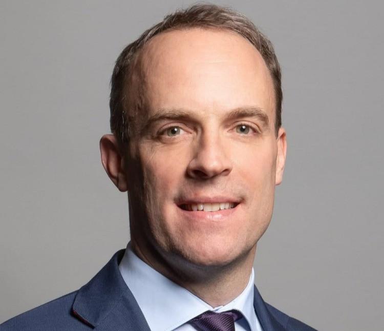 Dominic Raab, secrétaire d'État aux Affaires étrangères