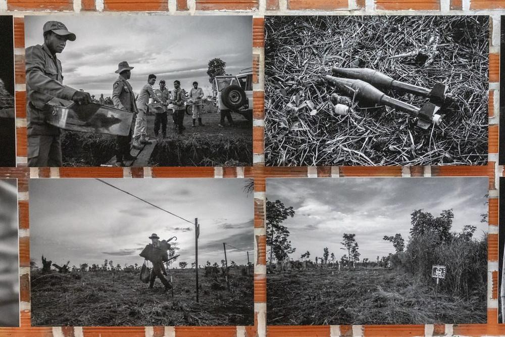Apopo : Des photos contre les mines