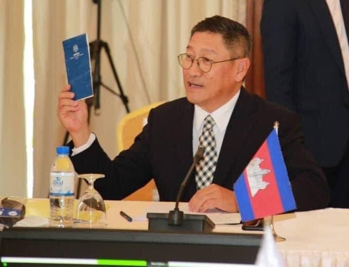 Sok Chenda Sophea, Secrétaire général du Conseil pour le développement du Cambodge (CDC)