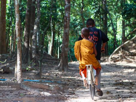 Siem Reap & Photographie : Flâner à bicyclette pour admirer la beauté du parc d'Angkor