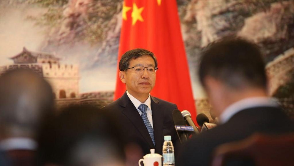 L'ambassadeur de Chine au Cambodge, Wang Wentian