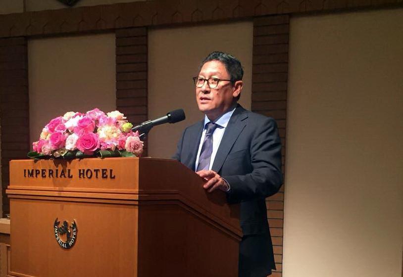 Son excellence Sok Chenda, secrétaire Général du CDC