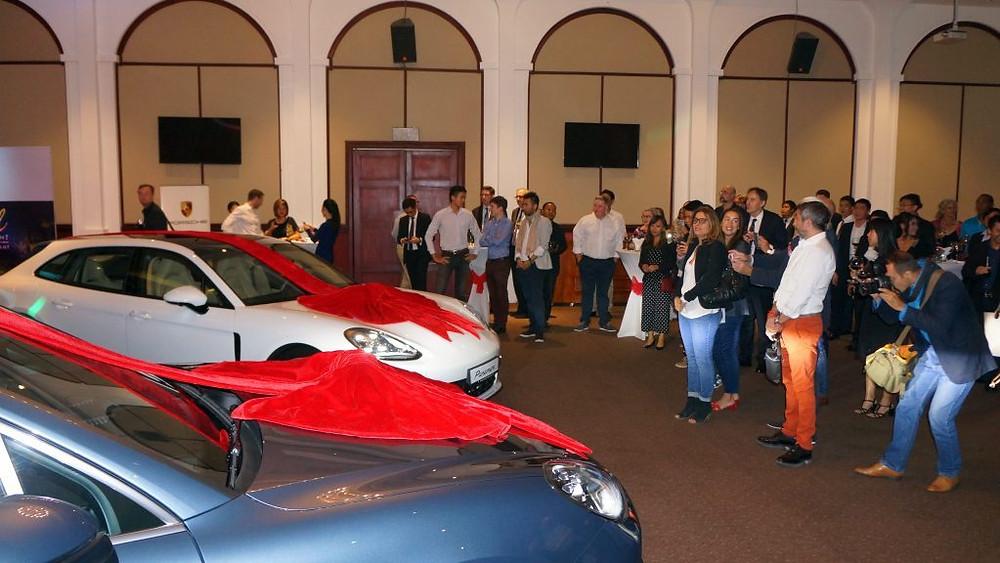 Soirée Valentine au Topaz avec Porsche